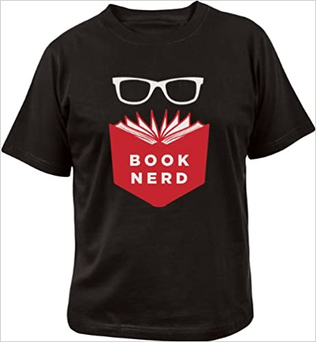 Image for Book Nerd Shirt Large