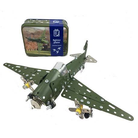 Image for Fighter Plane Gift in a Tin